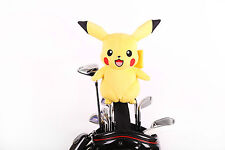 Custom Made Pokemon Pikachu Golf Headcover for 460cc Driver or Wood