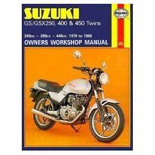 Suzuki GS Suzuki Motorcycle Workshop Manuals