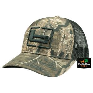 "NEW BANDED GEAR TRUCKER CAP HAT REALTREE TIMBER CAMO MESH W/ ""b"" LOGO ADJUSTABLE"