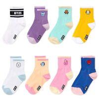 BTS Girls Boys Character Socks Adult Cotton Socks JUNGKOOK JIN JIMIN UK Nice