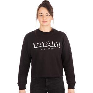 Tatami Fightwear Women's Cropped Pullover Sweatshirt - Black