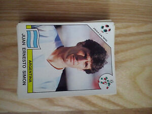 Lote 40 Cromos Mundial Panini Italia 1990 90 world cup