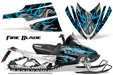 ARCTIC CAT M CROSSFIRE SNOWMOBILE SLED GRAPHICS KIT WRAP CREATORX FBBLIB