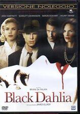 BLACK DAHLIA - DVD (USATO EX RENTAL) BRIAN DE PALMA