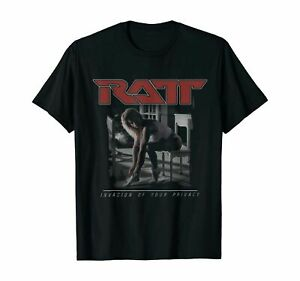 T Shirt RATT - Invasion Of Your Privacy T-Shirt 100% Cotton