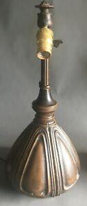 Arts & Crafts Bradley & Hubbard Organic Lamp Base