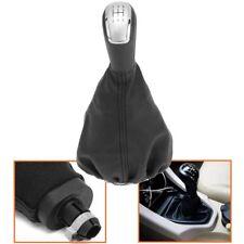 5 Speed Gear Stick Shift Knob & Gaiter Cover PU For Mercedes A Class W168 97-04