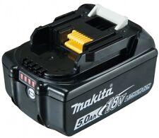 Batterie MAKITA Li-Ion 18V  5 Ah - BL1850B ( témoin de charge intégré )