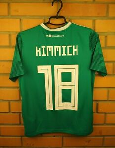 Kimmich Germany Jersey 2018 2019 Away Youth 13-14 Shirt BR3146 Soccer Adidas