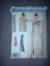 SIMPLICITY PATTERN 1874 ~ LADIES EVENING GOWN DRESS ~ SZ 6-14 ~ NEW