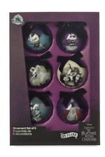 NEW Disney Nightmare Before Christmas Ball Ornament Set of 6 - Limited Edition
