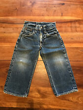 ORIGINAL  VINTAGE LEVI'S JEAN'S BIG E RIVETS KIDS