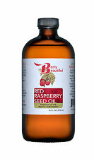 Red Raspberry Seed Oil - 16 fl oz (473 mL) - Cold-Pressed by Berry Beautiful