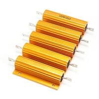 1X(Plaque or Aluminium Resistor Resistance 100W de puissance, 2 Ohm 2R X4D6) Q4V