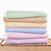 summer blanket thin air conditioning blanket soft bamboo fiber towel sheet China