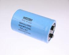 1x 40000uF 40V Large Can Electrolytic Aluminum Capacitor mfd DC 85C Surge 50V