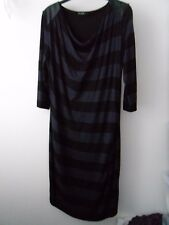 Ladies Marks and Spencer Autograph Striped Dress Size 14 (F)
