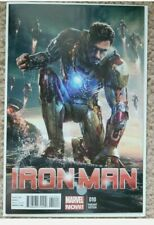 Ironman #10 Robert Downey Jr Movie Variant CVR 2013 CGC Signing!!!