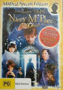 Nanny McPhee DVD : Special Edition (PAL, 2006) BRAND NEW AND SEALED,  FREE POST