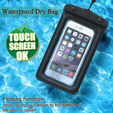 Waterproof Floating Phone Case Dry Pouch Bag for iPhone 6 7 Plus Samsung S8/Plus