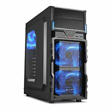 Sharkoon Vg5-w scrivania Nero vane portacomputer