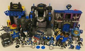 Imaginext Batman Bundle Gotham City Jail RC Batbot Two-Face Vehicles & Figures