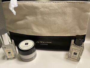 Lot/4 Jo Malone Wood Sage Sea Salt Cologne 9ml+Hand Wash+ Body Creme