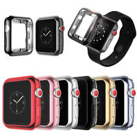 For Apple Watch Series 4 40mm 44mm TPU Frame Bumper Protective Slim Case Cover
