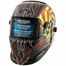 Titan 41283 Auto Darkening Welding Helmet - Skull And Pipewrench