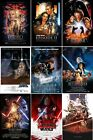 Star Wars Movie Poster Collection | Set of 9 | NEW | USA | Free Shipping