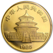 1985 1 oz Gold Chinese Panda Coin - Sealed in Plastic
