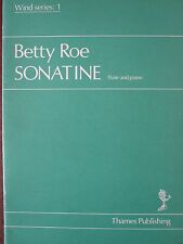 BETTY ROE Sonatine for flute and piano Wind Series 1
