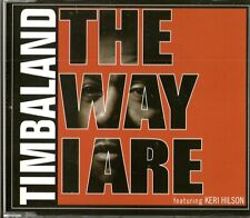 TIMBALAND FEAT. KERI HILSON - The Way I Are / Give It To Me - (3 Track Promo CD)