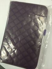 Samsung Galaxy Tab 3 8.0 Plaid Leather Case Plum ALC6516-148 Brand New Original