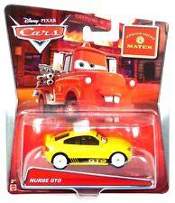 Disney Pixar Cars Toon Rescue Squad Mater Nurse GTO Diecast Vehicle!