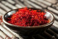 10 Grams Afghan Saffron SALE - Super Negin Deep Red Long Threads FREE SHIPPING