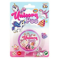 1x Magic Unicorn Poo Putty Slime Kids Toys Glitter Fun Magical Stress Relief
