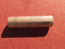 1954 S LINCOLN WHEAT CENT PENNY ROLL uncirculated San Francisco S Mint OBW