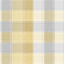 Modern 3D Effect Tartan Check Wallpaper | Grey | Yellow | Pink | Blue | Arthouse