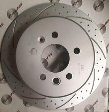 FORD FALCON EF EL XR6 XR8 DISC BRAKE ROTORS SLOTTED Full Set Grooved & Dimpled