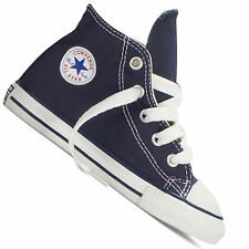 Converse Chuck Taylor All Star Infant Dark Navy Textile Trainers 7 UK Child / 23 EU