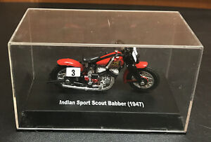 New Ray 1947 Indian Sport Scout Babber Motorcycle DieCast Scale 1:32