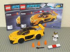 Voiture LEGO  Speed Champions set 75909 McLaren P1 / 100 % Complet avec notice !