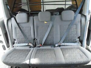 FIAT DOBLO CARGO MK2 2ND ROW REAR BACK SEATS INC FIXING BELTS / 2015-2019