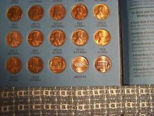 LINCOLN WHEAT 1941-1958 + MEMORIAL 1959-1974 CENTS w/ FOLDER  * Take a Look *