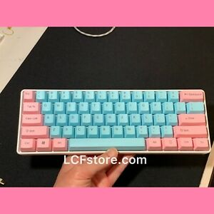Custom White Miami keyboard