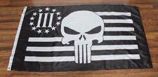 Oathkeeper Banner Flag Iii 3%er American Punisher Skull Gun Rights Nra New