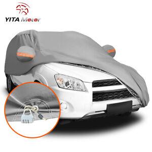 YITAMOTOR SUV Car Cover PEVA Waterproof Breathable Rain Dust Resist Protection