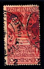 ITALIA - Regno - 1913 - Francobolli del 1911 sovrastampati  2 su 10 c. - varietà