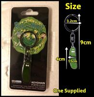 Officially Licensed Rick and Morty Pickle Rick Keyring (One Supplied) ABYStyle